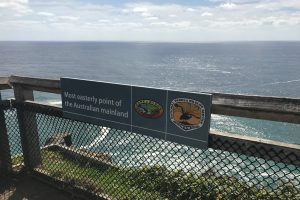 Most Easterly Point