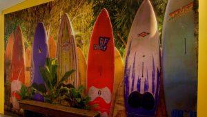 Retreat Pavilion Surf Mural